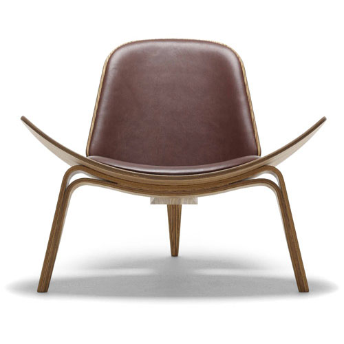 Carl Hansen CH07 Shell Lounge Chair