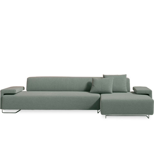 Moroso Lowland Chaise Composition