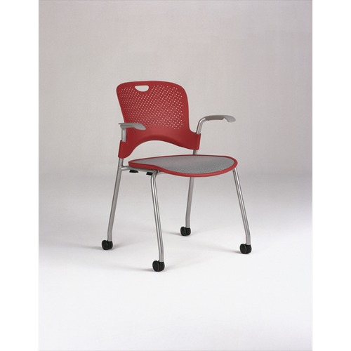 Herman Miller Caper Stacking Chair With Flexnet Seat And Arms Ideacollection