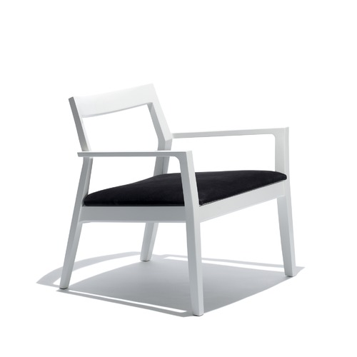 Knoll Marc Krusin Lounge Chair with Arms