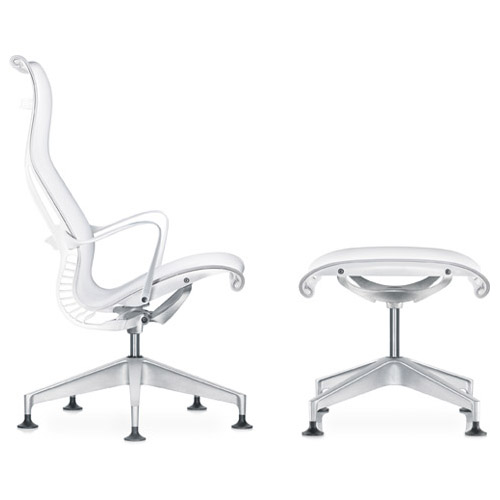 Setu Lounge Chair and Ottoman