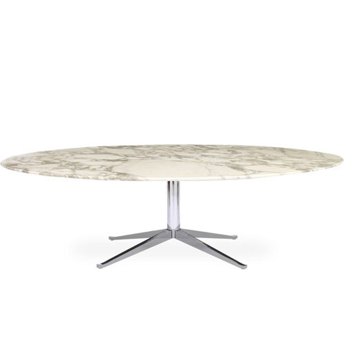 Florence Knoll Large Oval Table