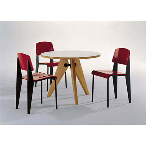 prouve gueridon table vitra jean prouve dining tables. Black Bedroom Furniture Sets. Home Design Ideas