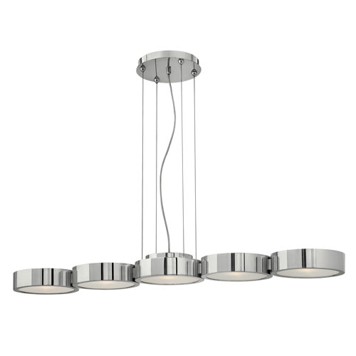 Fredrick Ramond Broadway 5 Light Chandelier