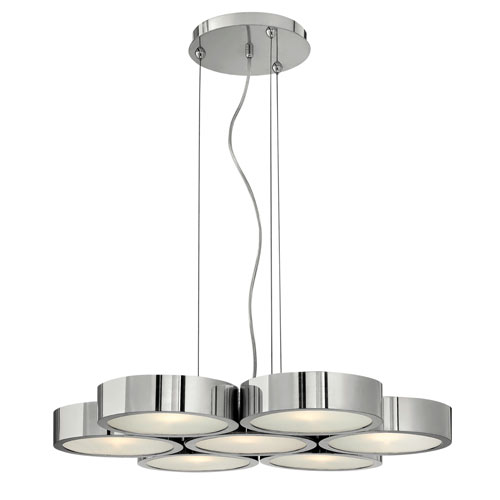 Fredrick Ramond Broadway 7 Light Chandelier